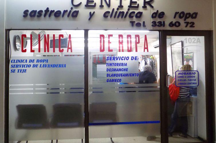 Center Sastrería y Clínica de Ropa